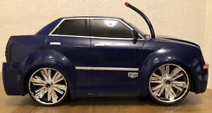 Chrysler Hemi 300C RC Remote Control CAR 1/12? Rare Untested Sold As Is Blue