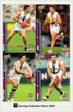 2007 Select AFL Champions Trading Cards Base Card Team Set Fremantle (12)
