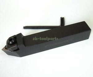60 Degrees 20mm x 125mm Cylindrical turning tool WTENN2020K16 for TNMG1604