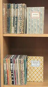 36 Antiquarische Bücher Insel Bücherei IB, Konvolut Sammlung Paket