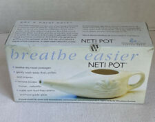 Breathe Easier NEW Neti Pot By Himalayan Institute Defense Against Disease