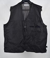 Stone Island Vest Nylon Logo Black Jacket 2XL Mens