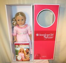 "NIB - American Girl Doll Beforever Caroline Abbot and Book NEW!! Retired - 18"""