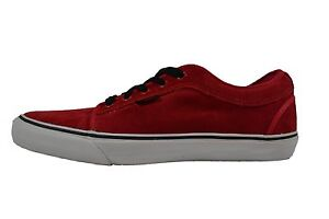 Vans CHUKKA LOW Chris Pfanner Red Black White Discounted (138) Men's Shoes