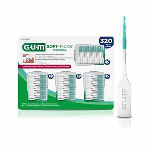 GUM - 6324A Soft-Picks Original Dental Picks, 320 Count