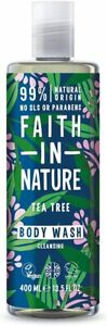 Faith In Nature Tea Tree Invigorating Body wash, 400 ml