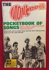 THE MONKEES Signed Autograph 1967 Book Nesmith, Davy Jones, Tork, Dolenz JSA LOA