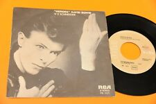 "DAVID BOWIE 7"" HEROES ORIGINALE ITALY 1977 EX+ !!!!!!!!!!!!!!!  TOOOPPPPP"