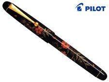 Pilot Namiki Hira Urushi Lacquer Maki-E Cherry (F) Nib 14K Fountain Pen Japan