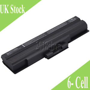 Battery for Sony Vaio VGN-NS21Z/S VGN-NS38M/P PCG-3H1M Laptop 4400mAh Black