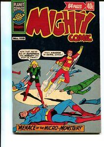 MIGHTY COMIC #118 GIANT AUSTRALIAN PRINT (MURRY PUBLISHING)