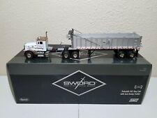 Peterbilt 357 with East Dump Trailer - Rick Kuntz - Sword 1:50 Scale Model New!