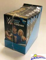 2017 Topps WWE Wrestling Then Now Forever HANGER CASE-6 HUGE Factory Sealed Box