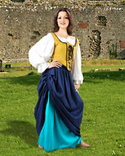 Women's Double-Layer Medieval Skirt , High quality finest fabric, handmade!!