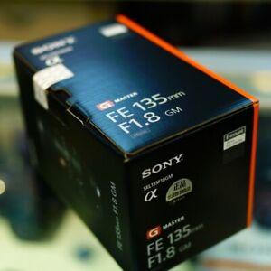 Sony FE 135mm F1.8 GM Lens SEL135F18GM Genuine