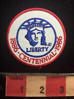 Centennial Celebration STATUE OF LIBERTY Island New York Harbor Patch 76YC