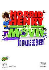 Horrid Henry - The Movie (Blu-ray, 2011, 2-Disc Set)