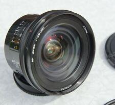 Minolta AF 20mm f/2.8 Lens - Minolta (Sony SLT / DSLR) A Mount, Ultra Wide Angle