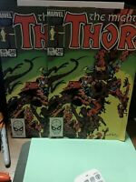 Thor 340  Lot Of 3 NM - BETA RAY BILL.. HIGH GRADE LAST OF BETA RAY AND STORMCHA