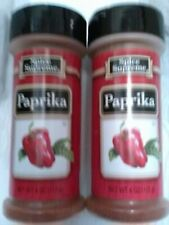 New (2) 4-oz. Bottles Spice Supreme PAPRIKA Seasoning (Made In USA)