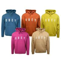 Obey Men's Light Coloured Anyway L/S Pull Over Hoodie (Retail $68)