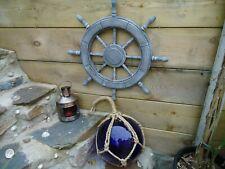 L 00006000 arge Ships Wheel 620 mm Across - marine / maritime / nautical /bathroom/ Garden
