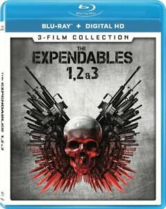 The Expendables 1 2 3: Sylvester Stallone (Blu-ray Disc, 2017, 3-Disc Set) NEW