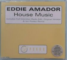 Eddie Amador – House Music CD Single - In Mint Condition