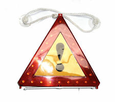 Warning Car Triangle Flashing Led Insert Light Road Emergency Breakdown Safety