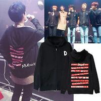 KPOP DAY6 Zipper Hoodie YOUNGK JAE Sweatershirt Unisex Coat Outwear DOWOON