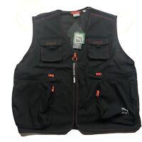$75 PUMA black TFS Industrial Vest Tailored for Sport Men's Size XXl Black 🔥
