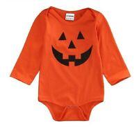 Calabaza Bebé Disfraz Halloween Recién Nacido Mono Infantil Disfraz