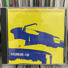 Stereolab : Transient Random-Noise Bursts With Announcements - original 1993 CD