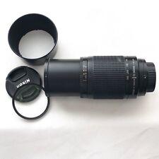 NIKON 70-300mm f/4-5.6G Zoom TELEPHOTO Lens 4 Auto Focus DSLR SLR Camera Body