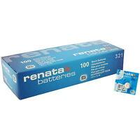 Renata 321 SR616SW Watch Battery Wholesale X1 , X2 , X3 , X5 , X10 , X50 , X100