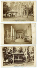 photo lot 7 cdv Vichy 1865 Thermes, sources thermales Claudius Couton - Allier