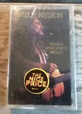 New Sealed Willie Nelson What A Wonderful World Cassette Tape CBS 1988 Country
