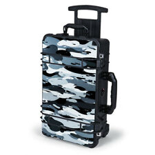 Skin Decal for Pelican Case 1510 / Grey Camouflage, Winter Camo