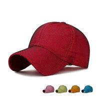 Unisex Sport Outdoor Snapback Hip-hop Net Hat Men Women Adjustable Baseball Cap