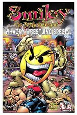 SMILEY THE PSYCHOTIC BUTTON - Wrestling Special! - Chaos! Comics! 1999 (NM)