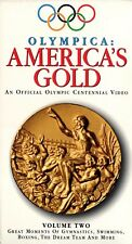 """OLYMPICA """"AMERICA'S GOLD: VOLUME TWO"""" VHS 1996 abc video sealed"""
