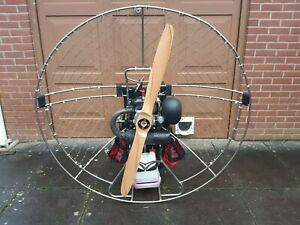 Paramotor PAP Top 80 Refurbished engine with spare propeller - FREE UK DELIVERY
