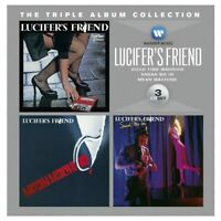 LUCIFER'S FRIEND - THE TRIPLE ALBUM COLLECTION 3 CD NEW