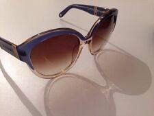 Coque Neuf avec étiquettes rondes bleu Smoke 70 S Style Lunettes de soleil RRP £ 158 Sonia Rykiel Paris Design
