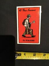 Gino Iannucci El Viadero Vintage Chocolate Skateboard Sticker Decal