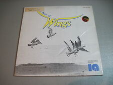 The Best Wings/ The Jeepsters-LP 1978 International Artists Made in Taiwan