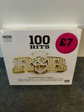 100 Hits: R&B by Various Artists (CD, Apr-2012, 5 Discs, 100 Hits) New