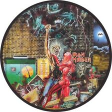 """IRON MAIDEN BRING YOUR DAUGHTER TO THE SLAUGHTER QUALITY VINYL STICKER 100MM 4"""""""