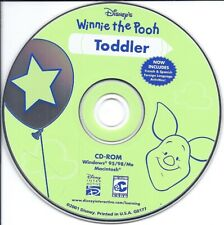Disney Winnie the Pooh - Toddler Cd (early learning fun activity Words Spelling)