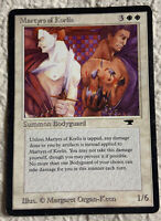 Martyrs of Korlis Played Antiquities 1994 Reserved List Mtg Magic the Gathering